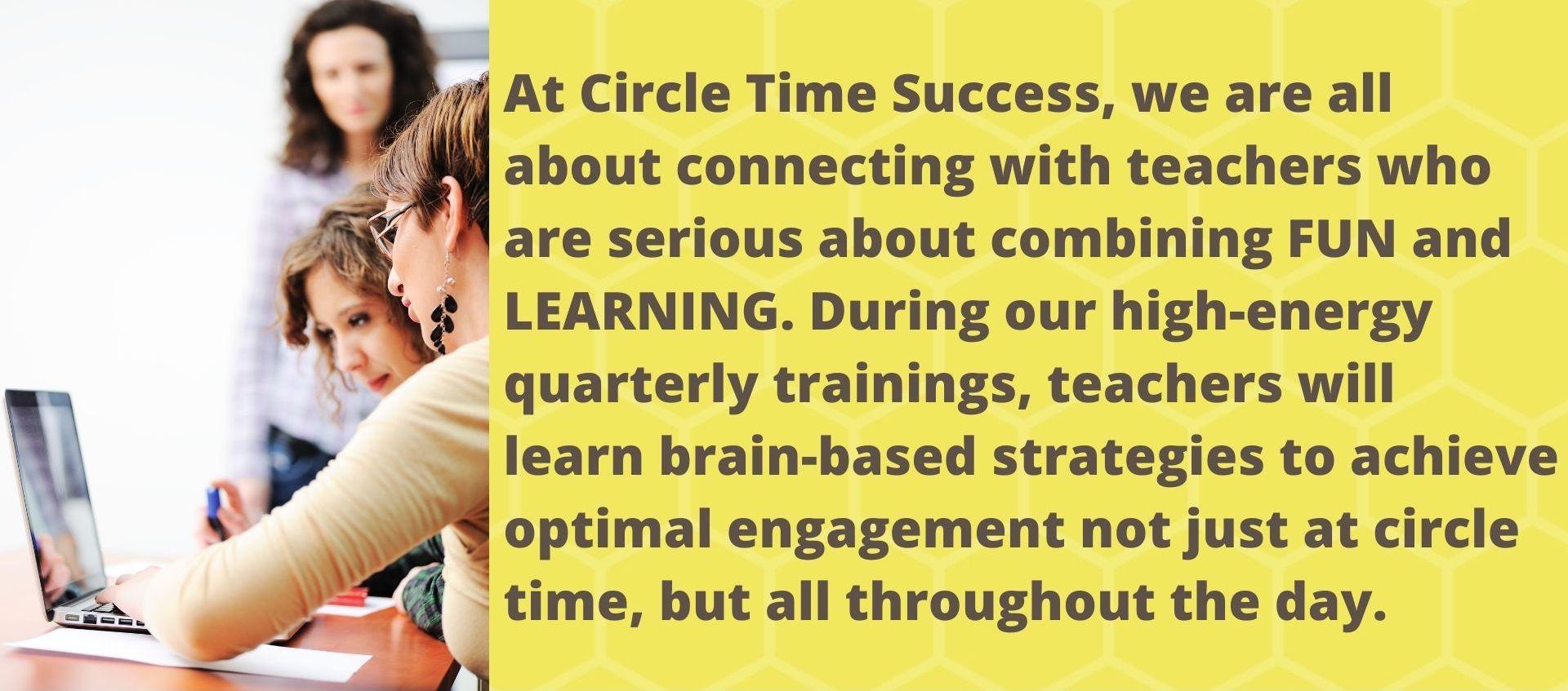 Teacher Trainings | Circle Time Success